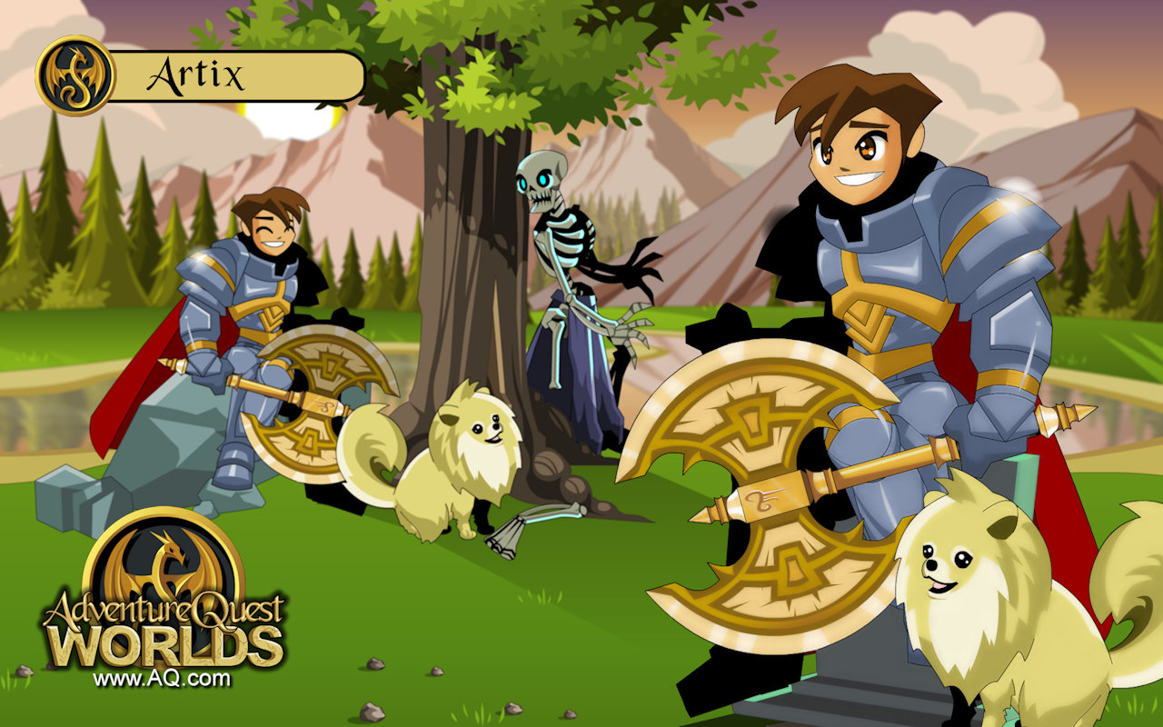how to play aqw on iphone